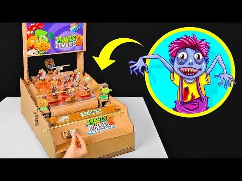 2 AWESOME CARDBOARD GAMES YOU CAN MAKE AT HOME