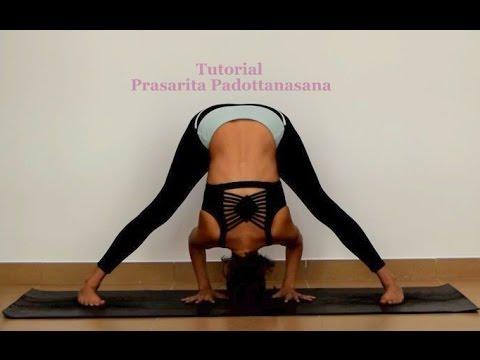 prasarita padottanasana tutorial  ashtanga yoga  youtube