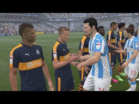 FIFA 17 (PS4 Pro) Huddersfield v Newcastle United PREMIER LEAGUE 20/8/2017 SIM MATCH 1080P 60FPS