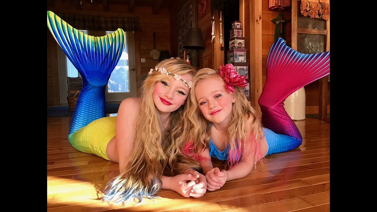 Download The legend of the Magic Mermaid. Princess Ella and playdoh girl make a wish and become real mermaids