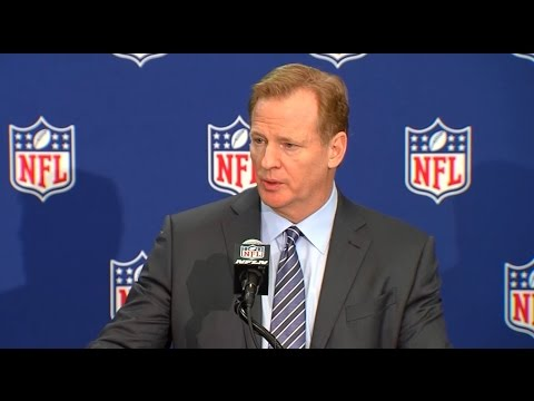 ALDON SMITH: NFL Commissioner Roger Goodell Comments On Meeting With Aldon Smith