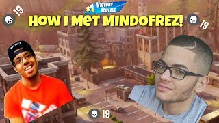 FINALLY! HOW DID I MEET MINDOFREZ?! CRAZY 19 KILL SOLO GAMEPLAY! FORTNITE BATTLE ROYALE