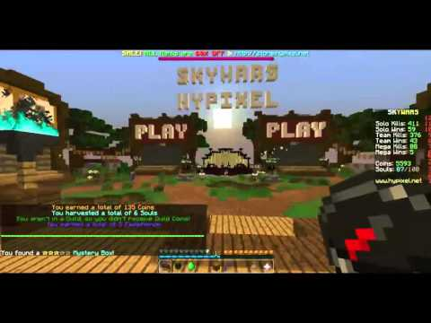 字 Skywars Hypixel #1+ PvP Ironfight #4 字