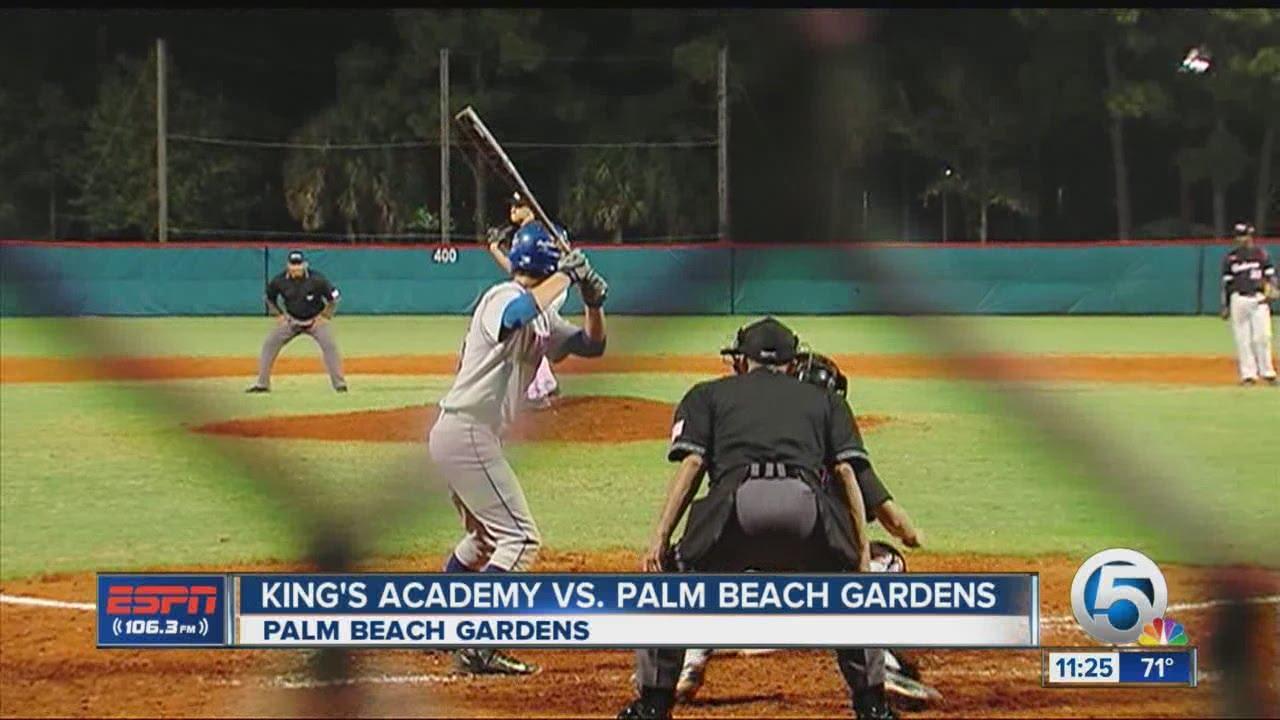 Palm Beach Gardens/King\'s Academy baseball highlights - YouTube