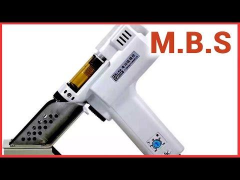 Электро пистолет / оловотсос - паяльник с Алиэкспресс. Удобный инструмент для ремонта техники.