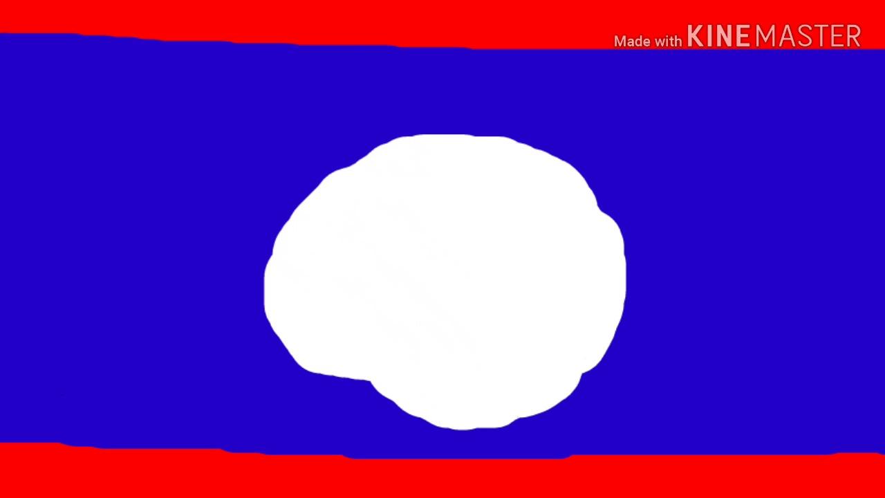 วาดรูปธงชาติลาว Draw Laos flag ??