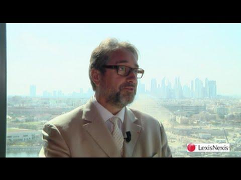 First Arab Civil Code Forum in UAE : Philippe-Henri Dutheil, EY Société d'Avocats