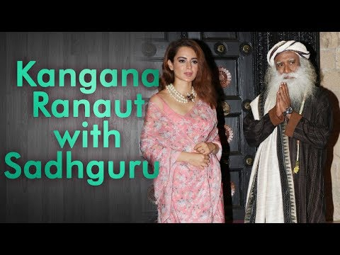 Kangana Ranaut with Sadhguru - In Conversation with the Mystic 2018