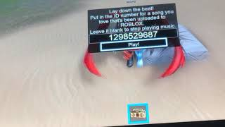 Roblox Music code for Lil Pump Gucci Gang