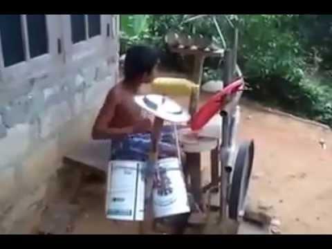 Best Drummer Ever :Respect Slum Boy :Slum's best Drummer