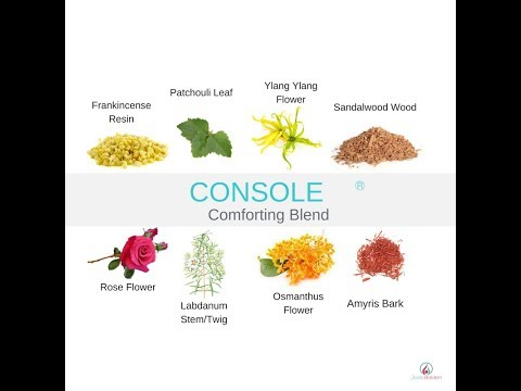 Console Comforting Essential Oil Blend by doTERRA   Online Class
