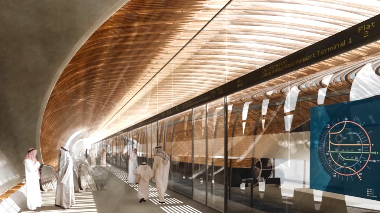 Foster Partners To Design All Stations And Trains For