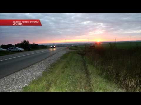 ДТП с погибшим в Зуевке 13.09.13 Место происшествия