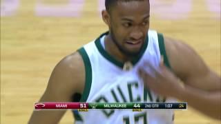 Miami Heat at Milwaukee Bucks - February 8, 2017
