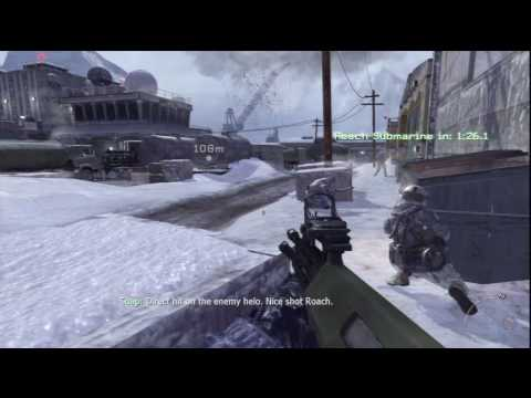 22. Call of Duty: Modern Warfare 2 - HD Veteran Difficulty Walkthrough - Contingency part 2/2