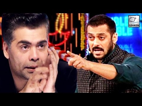 Karan Johar CRIED Coz Of Salman Khan | Find Out WHY??? | LehrenTV