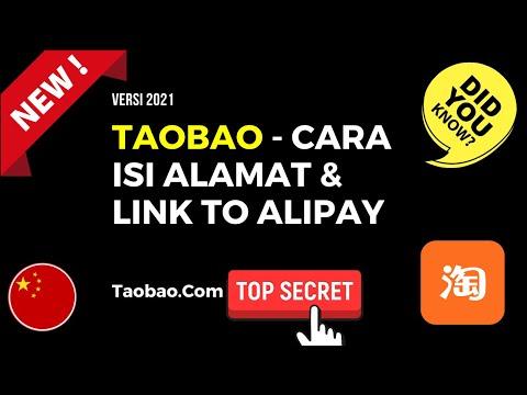 Taobao Malaysia - Cara Isi Alamat Dan Link To Alipay 2021
