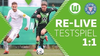 VfL Wolfsburg - Holstein Kiel 1:1 | Re-Live | Testspiel
