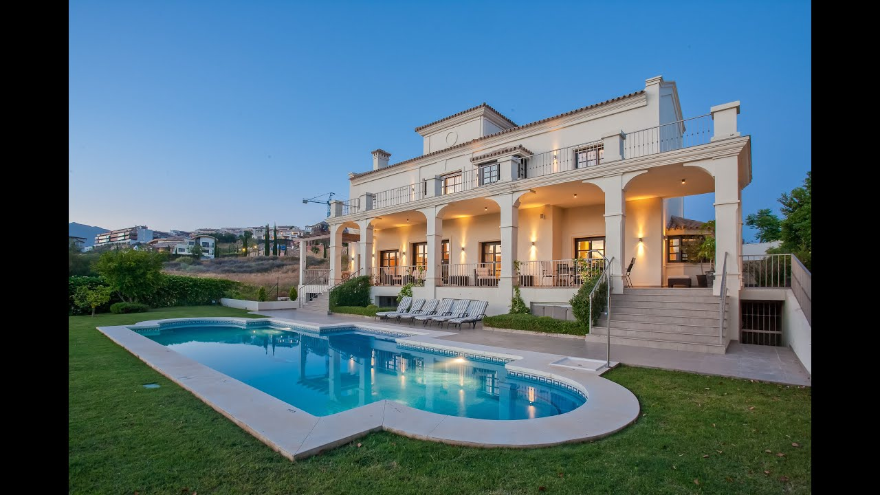 Villa Roma Luxury 5 Bedroom Holiday In Marbella