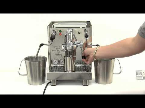 How to descale a heat exchanger espresso machine