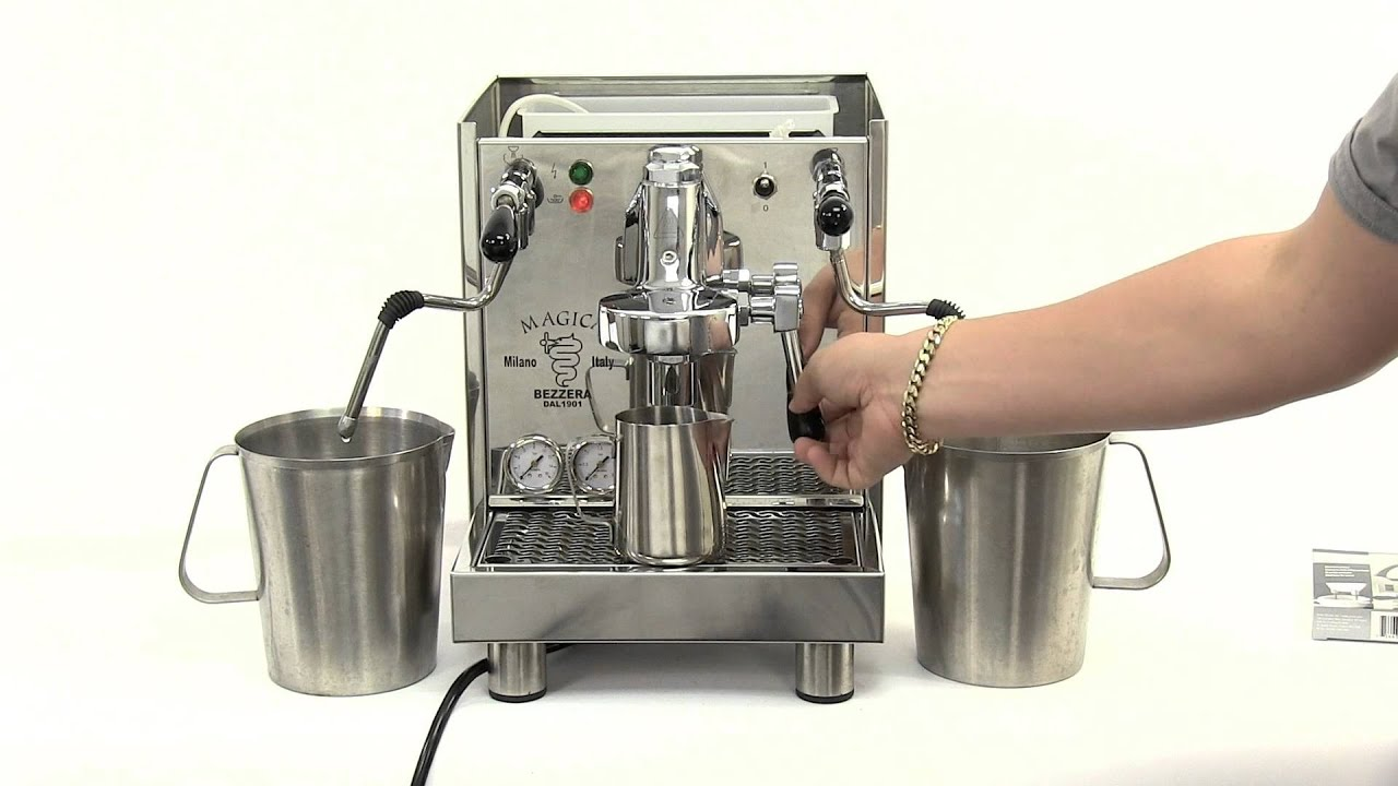 How To Descale A Heat Exchanger Espresso Machine Youtube