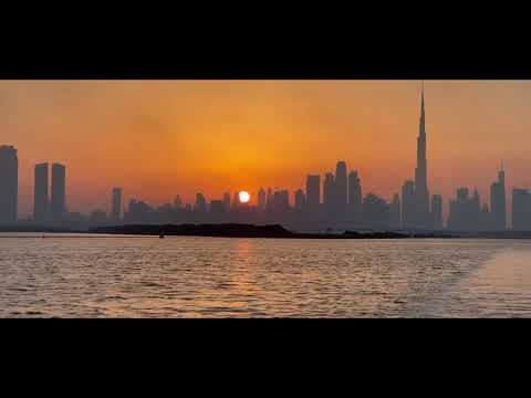 SUNSET | FROM DUBAI CREEK HARBOUR | DUBAI | SKYLINE |