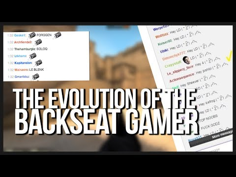 Steel's Thoughts: Twitch and the Epidemic of Backseat Gamers (Don't be a captain hindsight)
