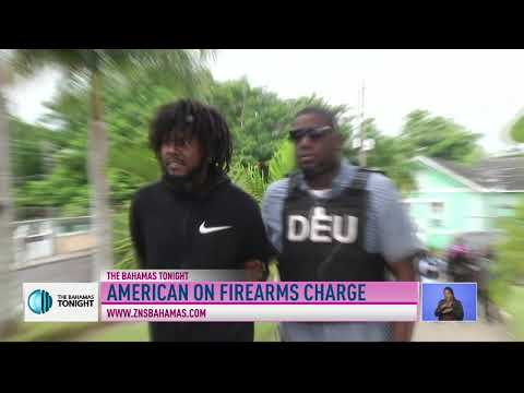 AMERICAN CHARGED WITH INTRODUCING FIREARM TO THE BAHAMAS
