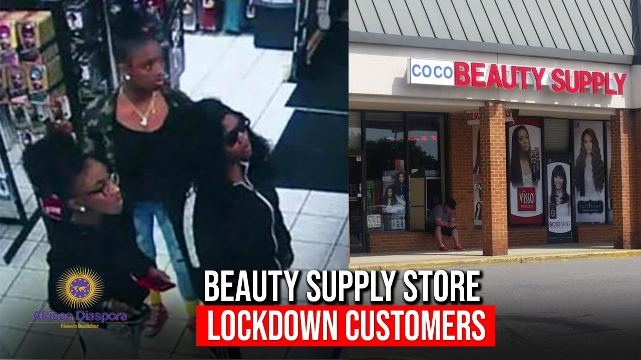 Asian Beauty Supply Owner Locks 3 Young Ladies Inside Of Store
