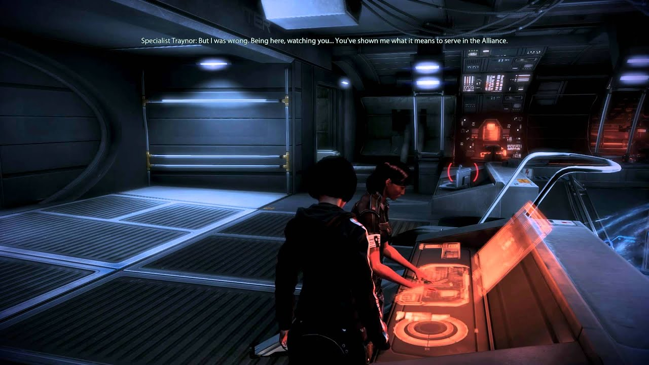 Mass Effect 3: Samantha Traynor romance #9: Unrealistic ...