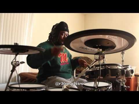 Phat Jam - Damani Rhodes - Drum Cover by: Retro Spectro