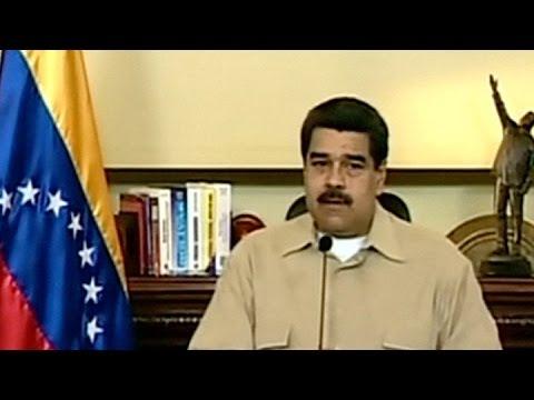 Maduro afirmó que desarticuló un complot contra Venezuela auspiciado por EEUU