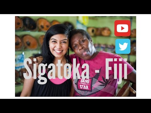Fiji, Sigatoka Fiji. MARKET AND TOWN CENTER