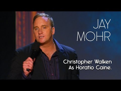 Jay Mohr is listed (or ranked) 4 on the list A Gaggle of Christopher Walken Impressions, Ranked Best to Worst
