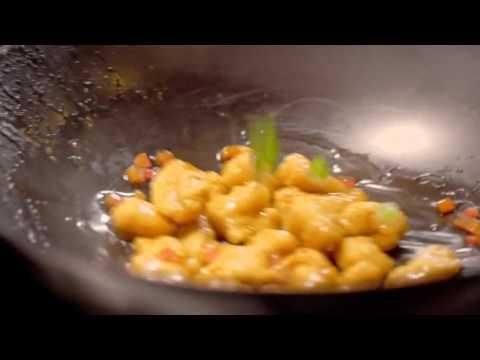 Honey Badger Meets Honey Seared Chicken at Pei Wei
