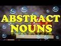 📔 Abstract Nouns (English Grammar Lesson)   📘 Learn English Grammar