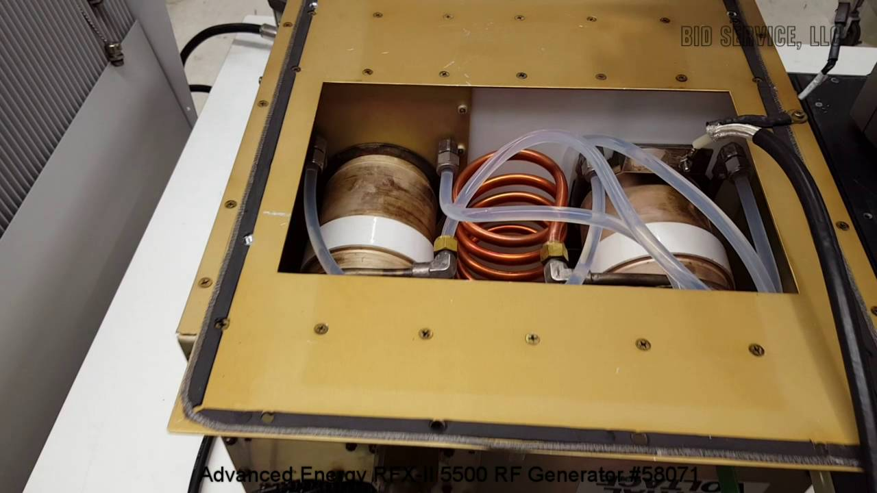 Advanced Energy Rfx Ii 5500 Rf Generator 58071 Youtube