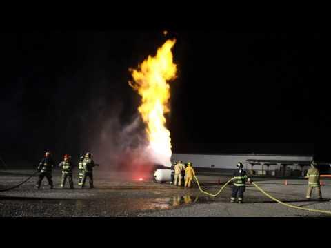 LP Gas Firefighting Training