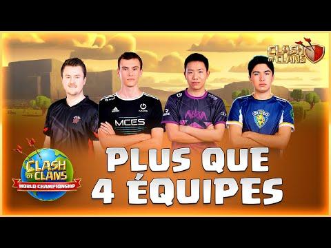🔴 FINALES CHAMPIONNAT MONDIAL De Clash Of Clans   Jour 2