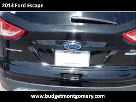 2013 ford escape used cars montgomery al youtube. Black Bedroom Furniture Sets. Home Design Ideas