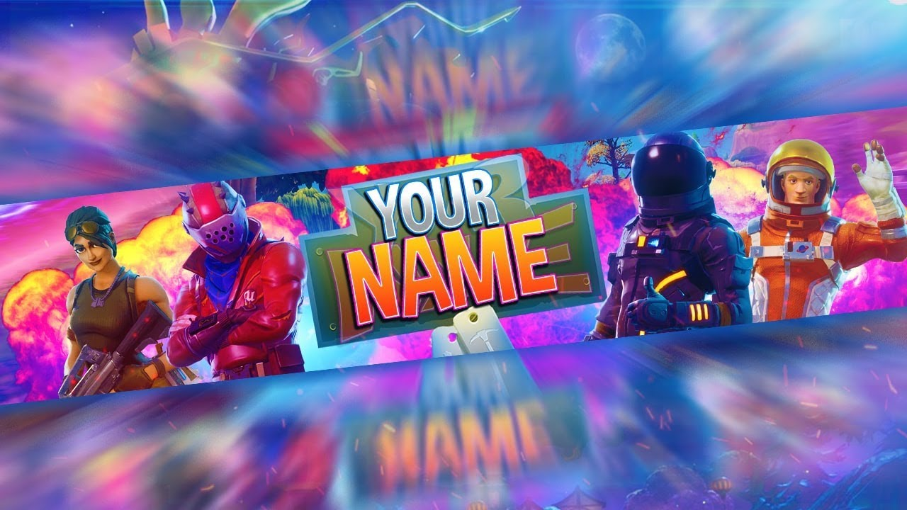 Fortnite Channel Art Template Save Template