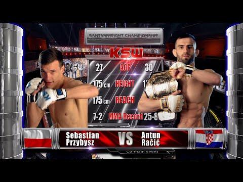 KSW Free Fight: Sebastian Przybysz vs Antun Račić | KSW 64