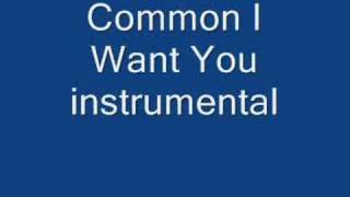 Common I Want You instrumental