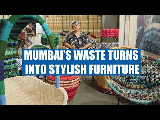 See How Mumbai's Waste turns into Furniture!