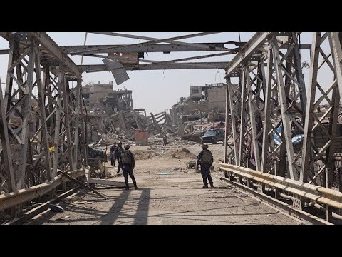 Video: After the war, life slowly returns to Mosul