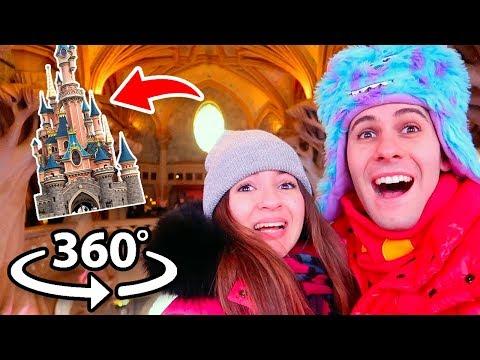 DENTRO IL CASTELLO DI DISNEYLAND! (Video a 360 Gradi)