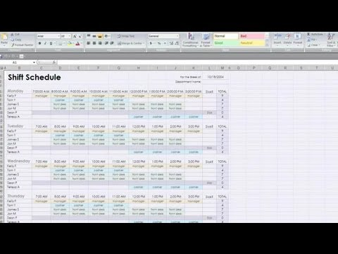 How to Do Project Scheduling in Excel  Social Media  Business - scheduling tools in excel