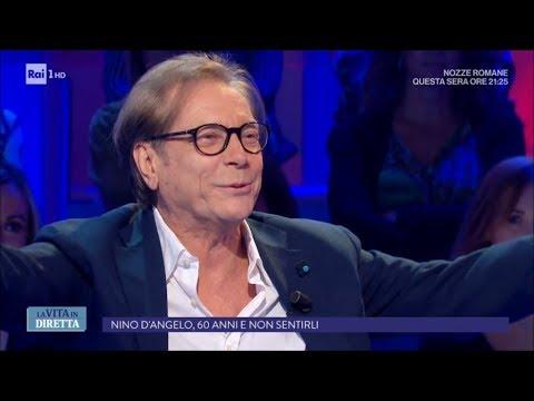 Intervista: Nino D'angelo, 60 anni e non sentirli - La Vita in Diretta 27/09/2017