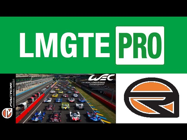 6 74 MB] rFactor - WEC 2018-19 GTE Pro Showroom Preview - Download