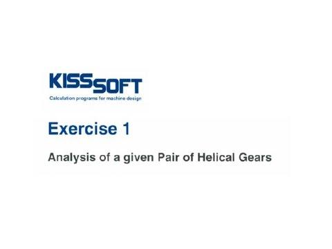 Analyze Gears in KISSsoft